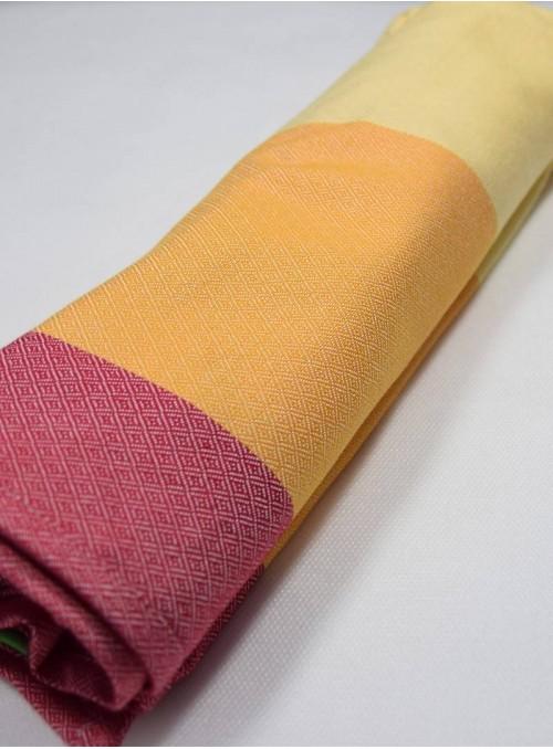 RAINBOW (dla lalek) - 60% bawełna, 40% bambus, , splot diamentowy