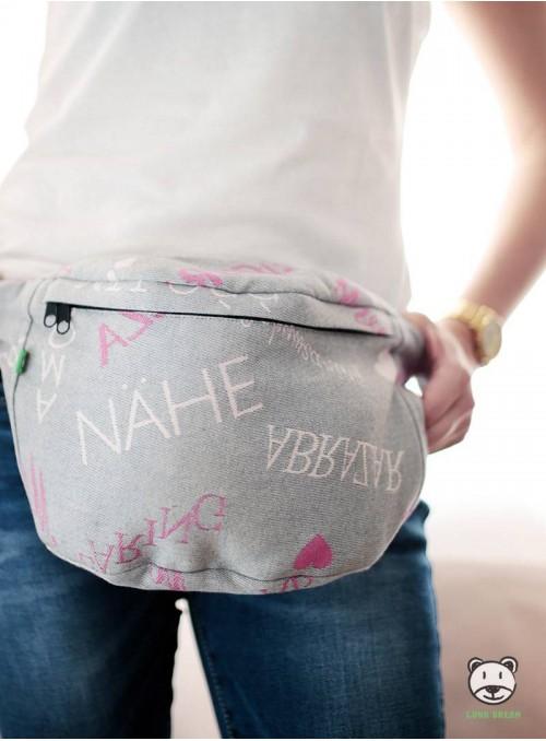 Waist Bag Words of Love - Pink
