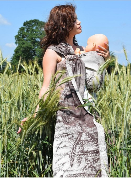 FIELD EARS - 100% Cotton, jacquard
